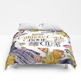 GG Book Club WhiteBG Comforters