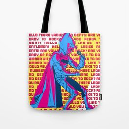 The Dark Knight Rocks (Text Version) Tote Bag