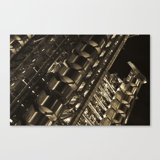 Gold Lloyds Canvas Print