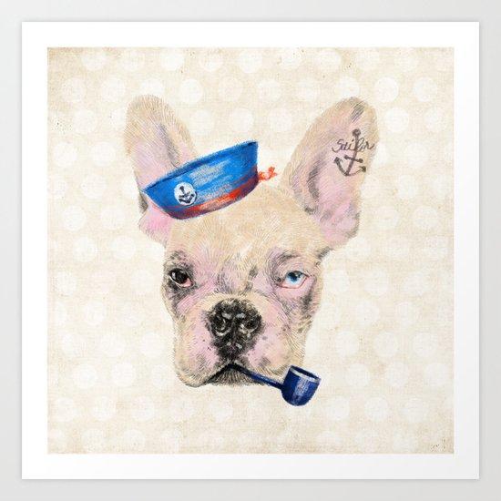 Babybulls IV Art Print