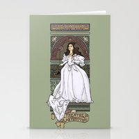 theatre Stationery Cards featuring Theatre de la Labyrinth by Karen Hallion Illustrations