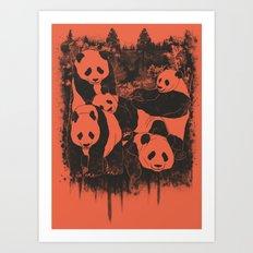 Fading Sloth Art Print