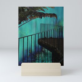 Emerald Falls Mini Art Print