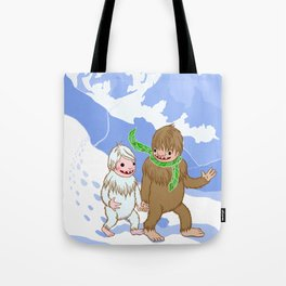 Snow Day! Tote Bag