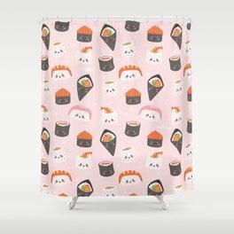 Sushi Gang Shower Curtain