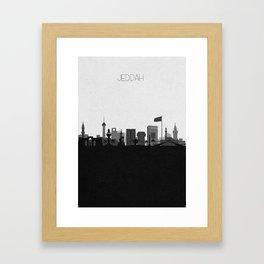 City Skylines: Jeddah Framed Art Print