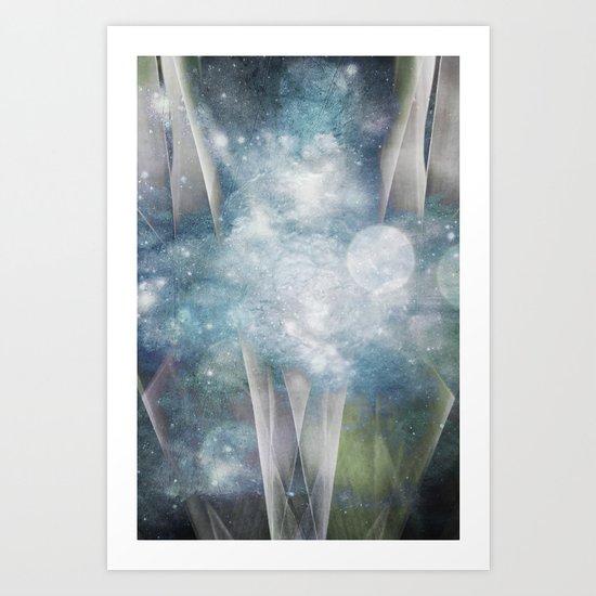 Celestial Becoming Art Print