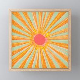 Sun In The Sky 2 Framed Mini Art Print
