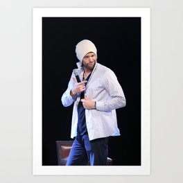 Jared Padalecki Art Print