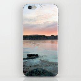 Connecticut Lake Sunrise iPhone Skin