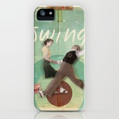 Swing Dance Slim Case iPhone (5, 5s)