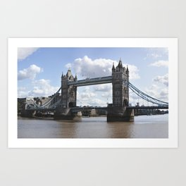 Tower Bridge in London, UK Art Print