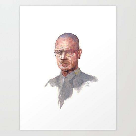 Breaking Bad (Walter White) Art Print
