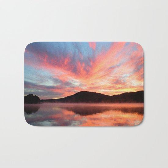 Glory: A Spectacular Sunrise Bath Mat