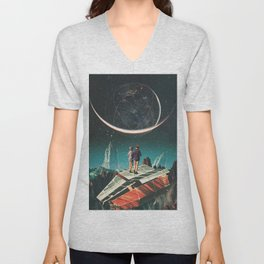 It will be a whole New World Unisex V-Neck