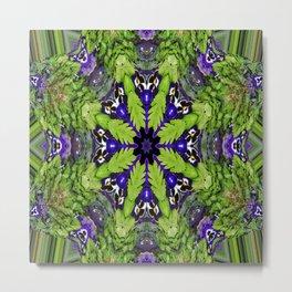 More Dancin' Purple Bears.... Metal Print