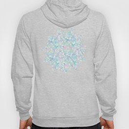 Mermaid Mandala on Deep Gray Hoody