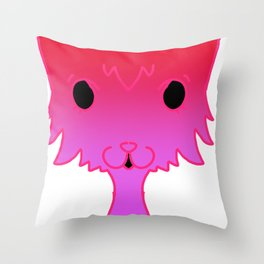maybe a cat Throw Pillow