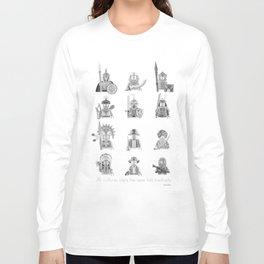 All Warriors Long Sleeve T-shirt