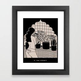9. THE HERMIT Framed Art Print