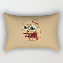 Zombie dude Rectangular Pillow