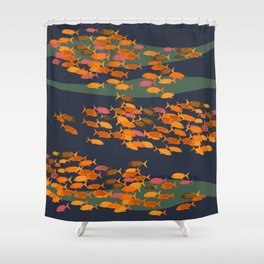just fishes Shower Curtain