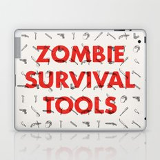 Zombie Survival Tools - Pattern 'o tools Laptop & iPad Skin