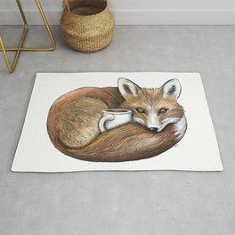 """""""Foxy Latte"""" - Java Jungle collection Rug"""