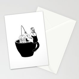 Laid-Back Time Stationery Cards