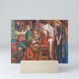 Dante Gabriel Rossetti The Tune of the Seven Towers 1857 Mini Art Print