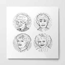 The Golden Girls Metal Print