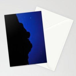 moon night, Jaisalmer, Rajasthan, India Stationery Cards