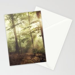german rain forest Stationery Cards