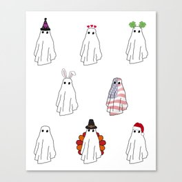 Spooky All Year Round Canvas Print
