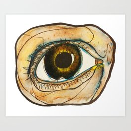 eye of the tireder Art Print
