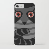 racoon iPhone & iPod Cases featuring racoon - raccoon  by ArigigiPixel