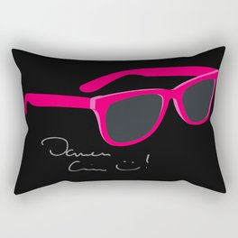 Darren Criss Glasses Rectangular Pillow