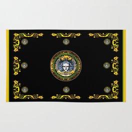 Medusa shield of Charles V Rug