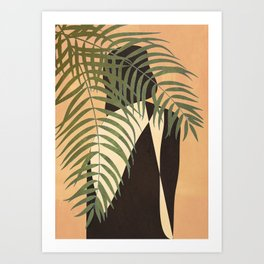 Resting in a Shade Art Print