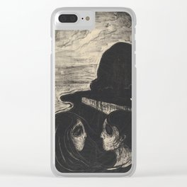 Edvard Munch,  Attraction I, 1896 Clear iPhone Case