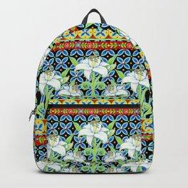 Elizabethan Folkloric Lily Backpack