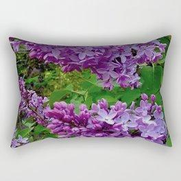 Lilacs in Bloom Rectangular Pillow