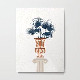 Greco Roman Vase Metal Print