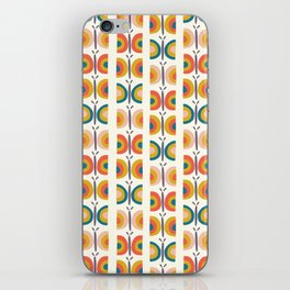 Retro Butterflies iPhone Skin