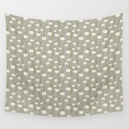 Pitcher Plant Taupe Wall Tapestry