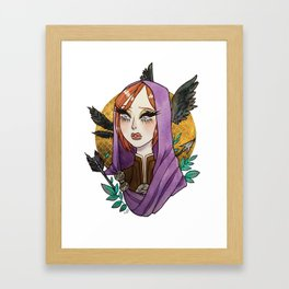 Leliana Framed Art Print