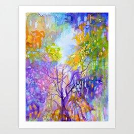 Sunshine Due Art Print