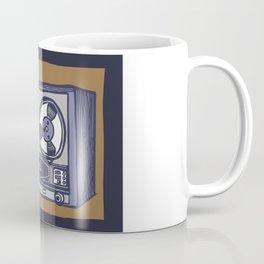 Vintage Tape Recorder Coffee Mug