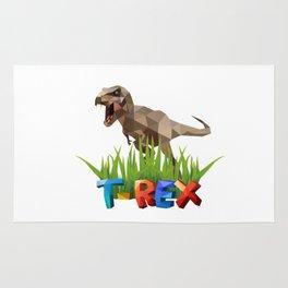 T-Rex cool Jurassic dinosaur Rug