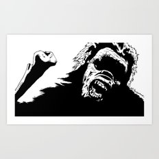 The Great Ape Art Print
